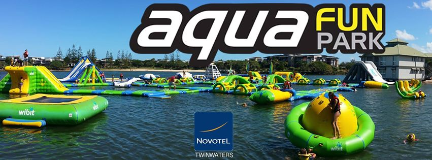Have a Blast at the Brand New Blast Aqua Park at Coolum!