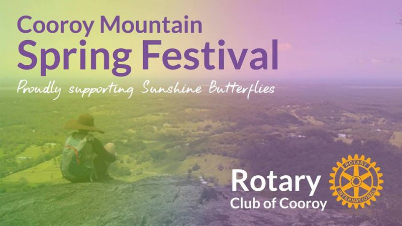 Climb Mount Cooroy at the Cooroy Mountain Spring Festival