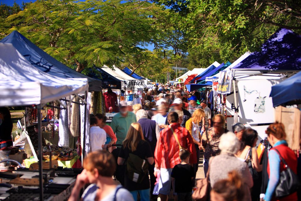 Have an 'All Well and Good' Day at the Eumundi Markets