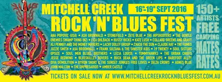 Camp Out with Friends at the Mitchell Creek Rock 'n' Blues Fest!