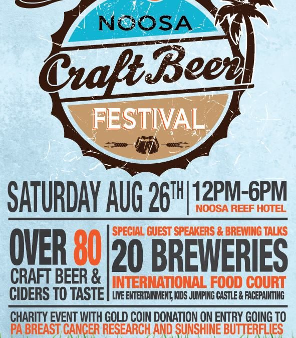 Head to Noosa for the Noosa Craft Beer Festival 2017