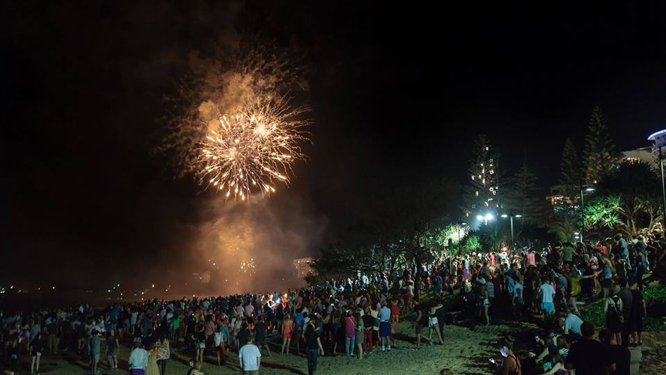 Experience New Year's Eve on the Sunshine Coast