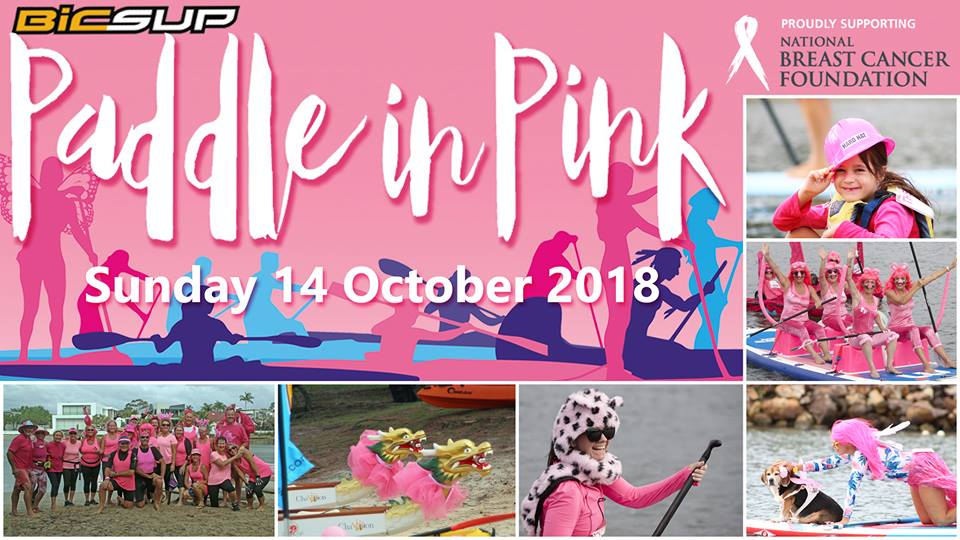 Don't Miss Paddle in Pink 2018 and the Noosa Multi Sport Festival