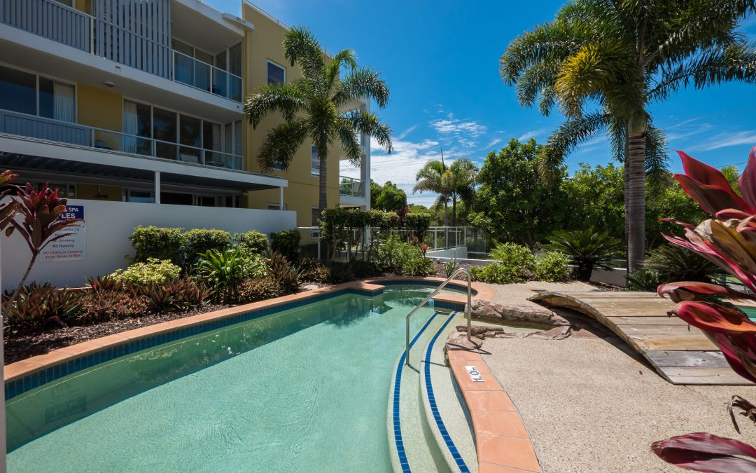 Great Pool Facilities at Our Coolum Holiday Accommodation!